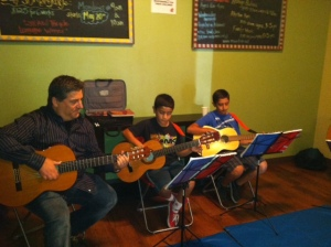 Young Guitar Students Performing in Scripps Ranch