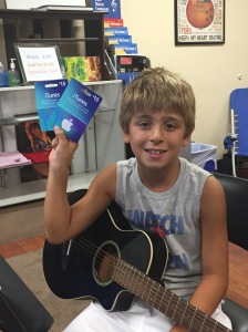 Young Poway Guitarist earns iTunes Cards for Referring His Friends