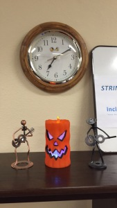 Its looking 'Spooky' at The Guitar Aces studio in Poway.