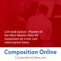 Click here for more info on Composition Online classes